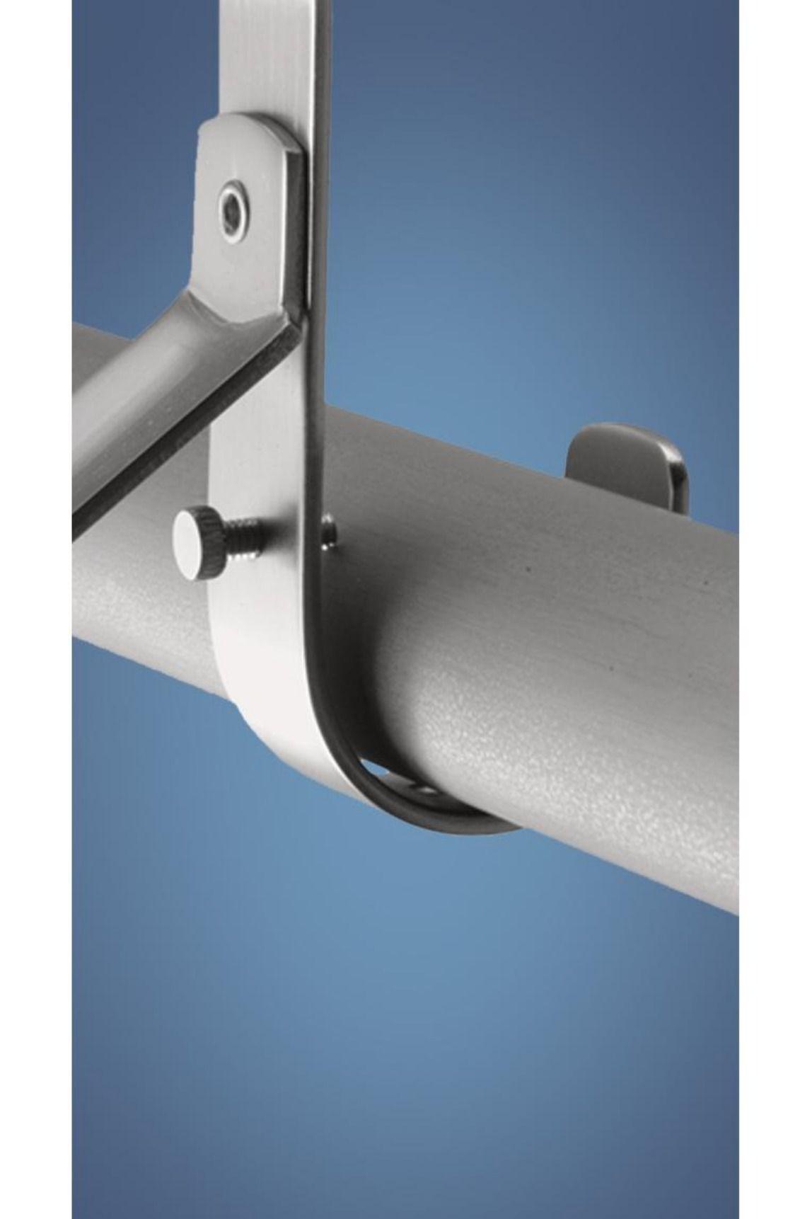 Lido Designs Lb 44 D103 4872 Deluxe Extend Lock Closet Rod Brushed Stainless By Lido Designs 22 00 Lido Designs Lb 44 Home Hardware Hardware Door Handles