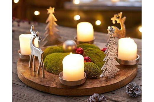 Otto Weihnachtsdeko.Adventskranz Mangoholz Und Christmas Ideas 7roomz De