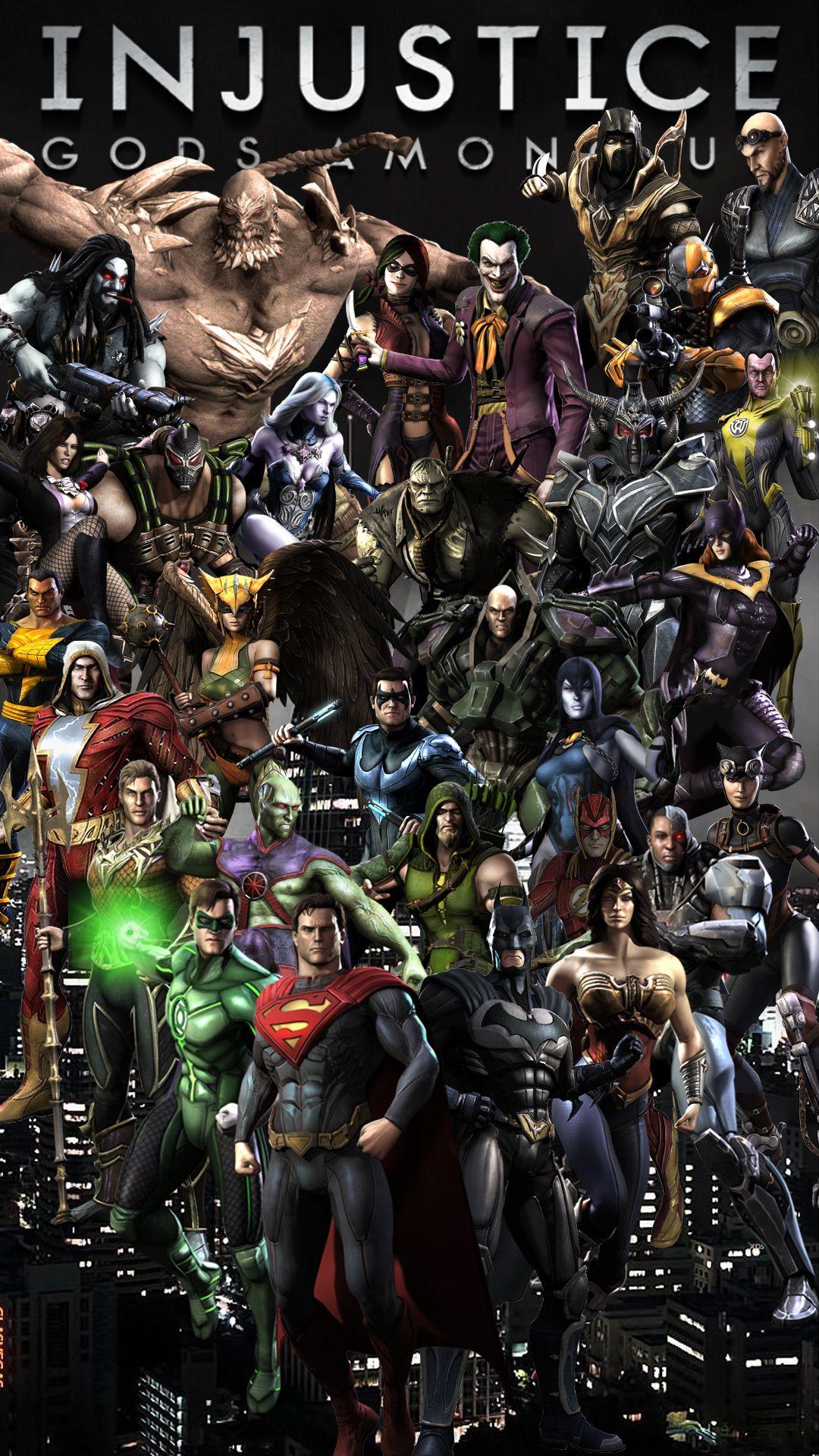 Injustice Gods Among Us Wallpaper For Smartphone Fondos De Comic