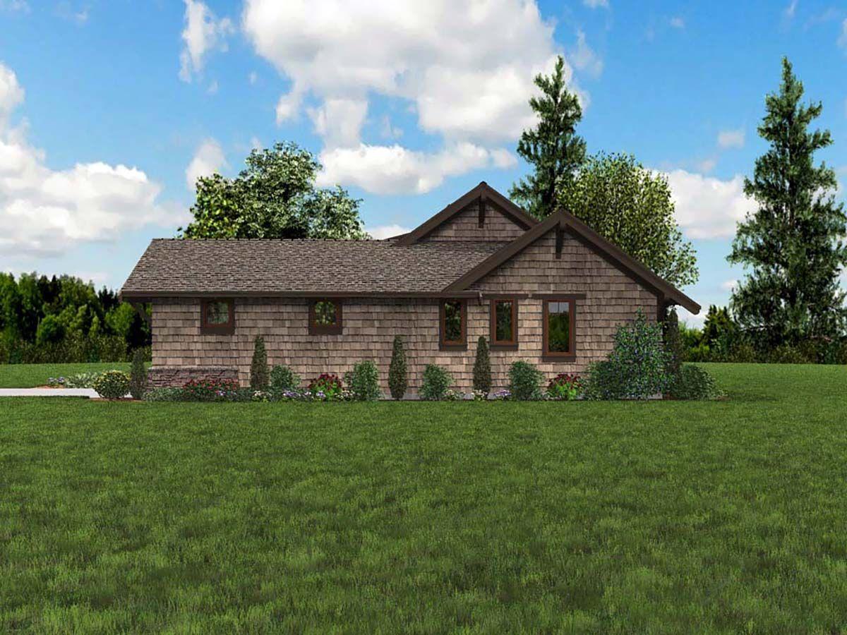 Craftsman Style House Plan 81229 with 3 Bed, 3 Bath, 2 Car Garage #craftsmanstylehomes
