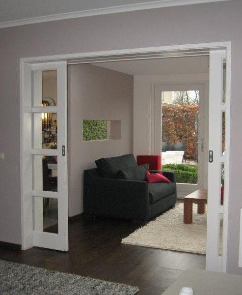 schuifdeuren woonkamer - Google zoeken | Huis | Pinterest | Pocket ...