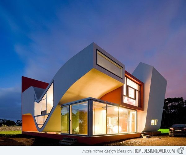15 Unbelievably Amazing Futuristic House Designs Home Design