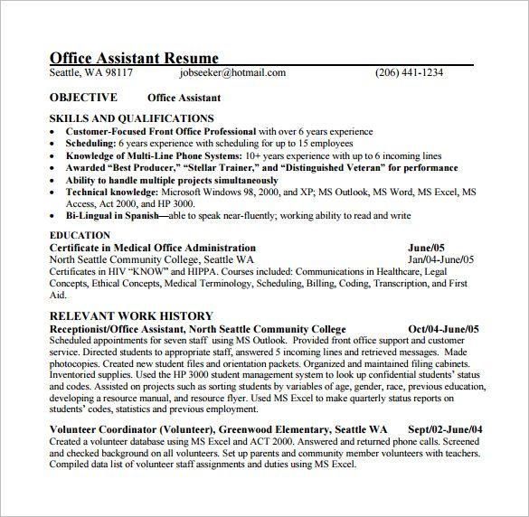 10+ Free Medical Resume Templates | Printable Word & PDF ...