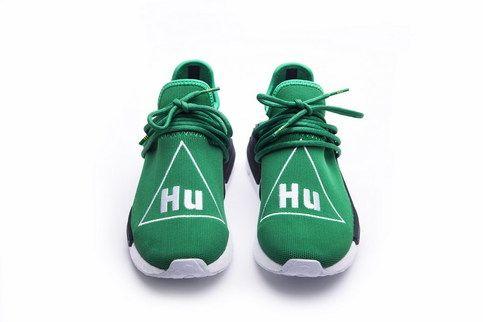 e3de97db887c UA Unisex NMD HU Human Race Green Sport Running shoes Sneaker ...