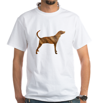 plott hound color silhouette Light T-Shirt #plotthound