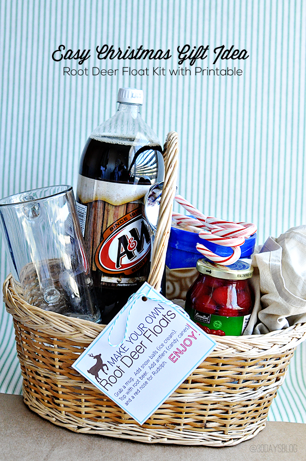 Easy Christmas Gifts: Root Deer Float Kit + Printer Giveaway ...