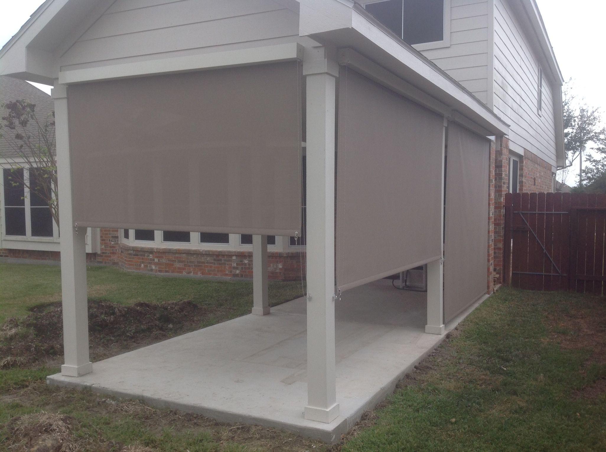 patio shades for outdoor patio