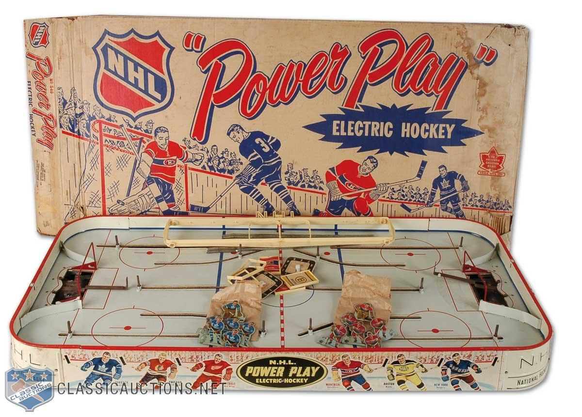 Vintage Table Hockey Toronto Vs Montreal Sports Games