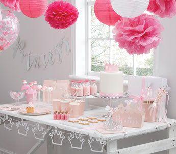 Deco Baby Shower Fille Theme Princess Princess Decoration Baby Shower