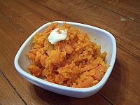 Mashed Sweet Potatoes and Carrots Recipe