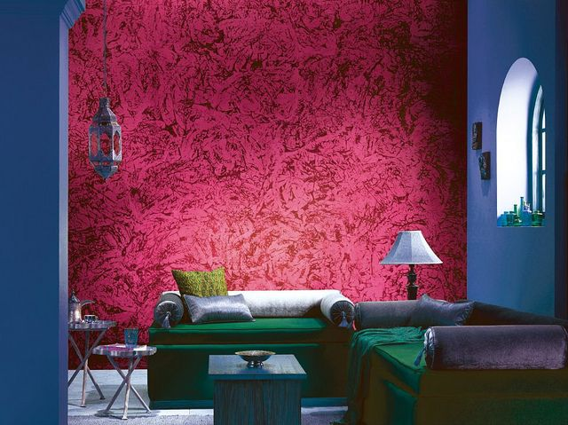 Dragon Red Asian Paints Wall Designs Wall Paint Designs Painting Textured Walls