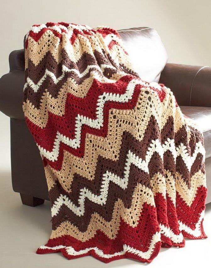 Crochet Patterns: Crochet Blanket Pattern - ZigZag Afghan | YO Baby ...