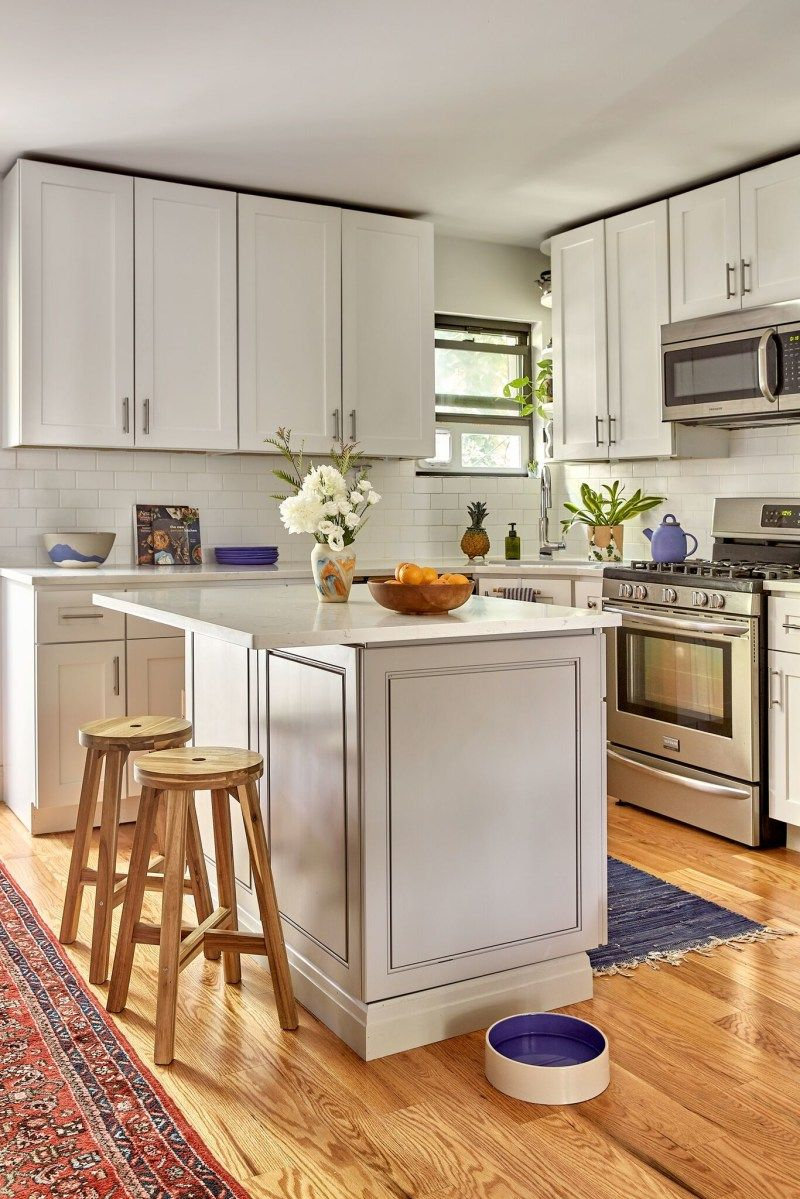 18 Kitchen Ideas To Redesign And Redecorate Your Home Small Apartment Kitchen Island Apartment Kitchen Island Small Apartment Kitchen