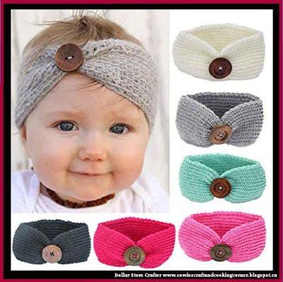 Dollar Store Crafter: Aspen Socialite Crochet Headband ~ Baby And ...