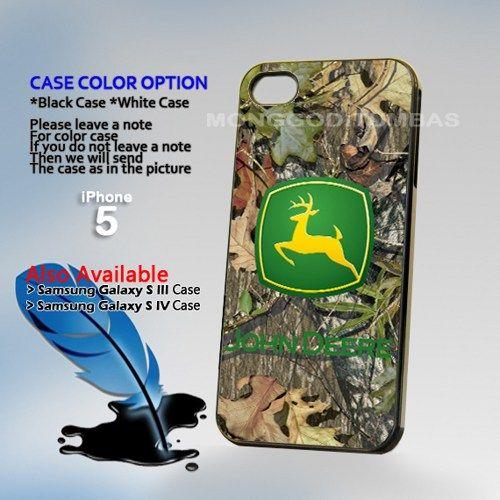JOhn deere cemo, Photo Hard Plastic iPhone 5 Case Cover   MonggoDiTumbas - Accessories on ArtFire