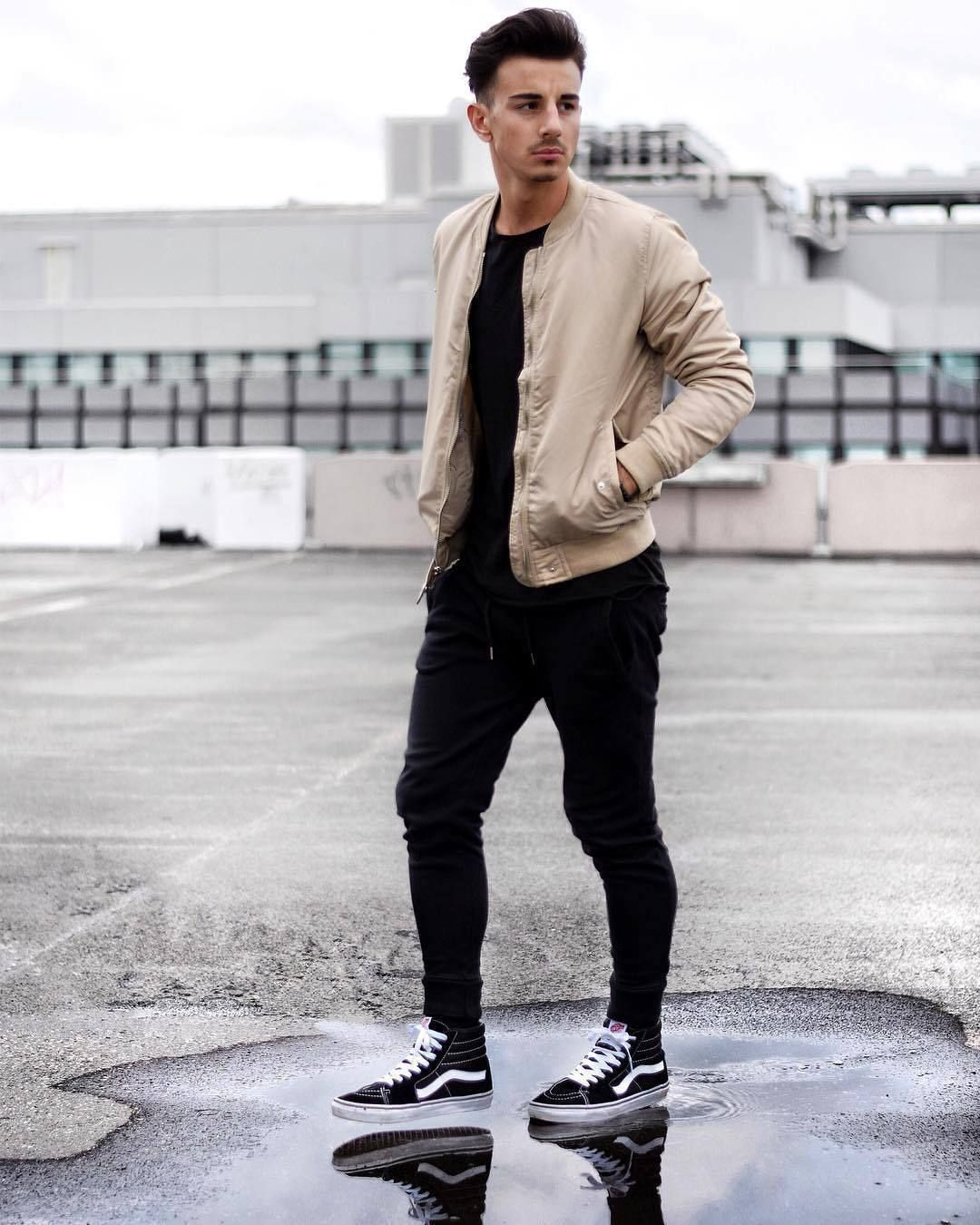 Love the Vans Sk8-Hi. | Cool Casual styles. | Pinterest | Vans sk8 Man style and Style men