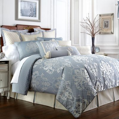 Waterford® Linens Newbridge Reversible Comforter Set ...