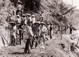 Chinese workers on the Central Pacific RR