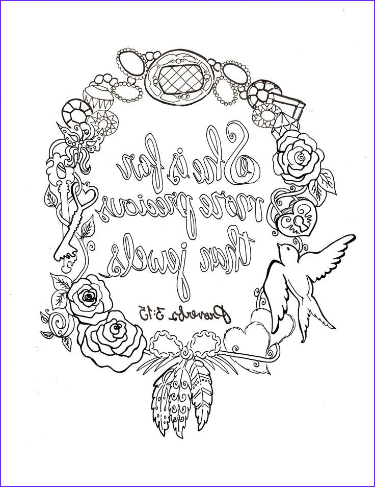 10 Beautiful Free Printable Scripture Coloring Pages for