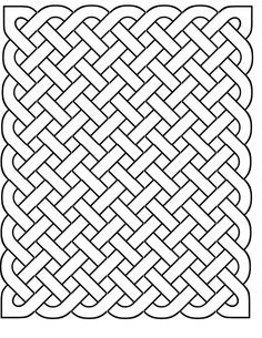 picture about Printable Celtic Stencils named Cost-free Printable Celtic Stencil Behavior Spherical Knot Celtic