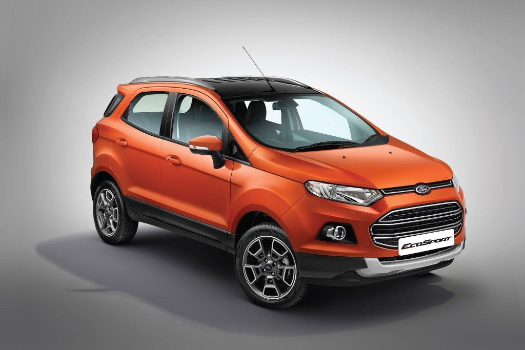 Ford Ecosport Platinum Edition Launched In India Ford Ecosport