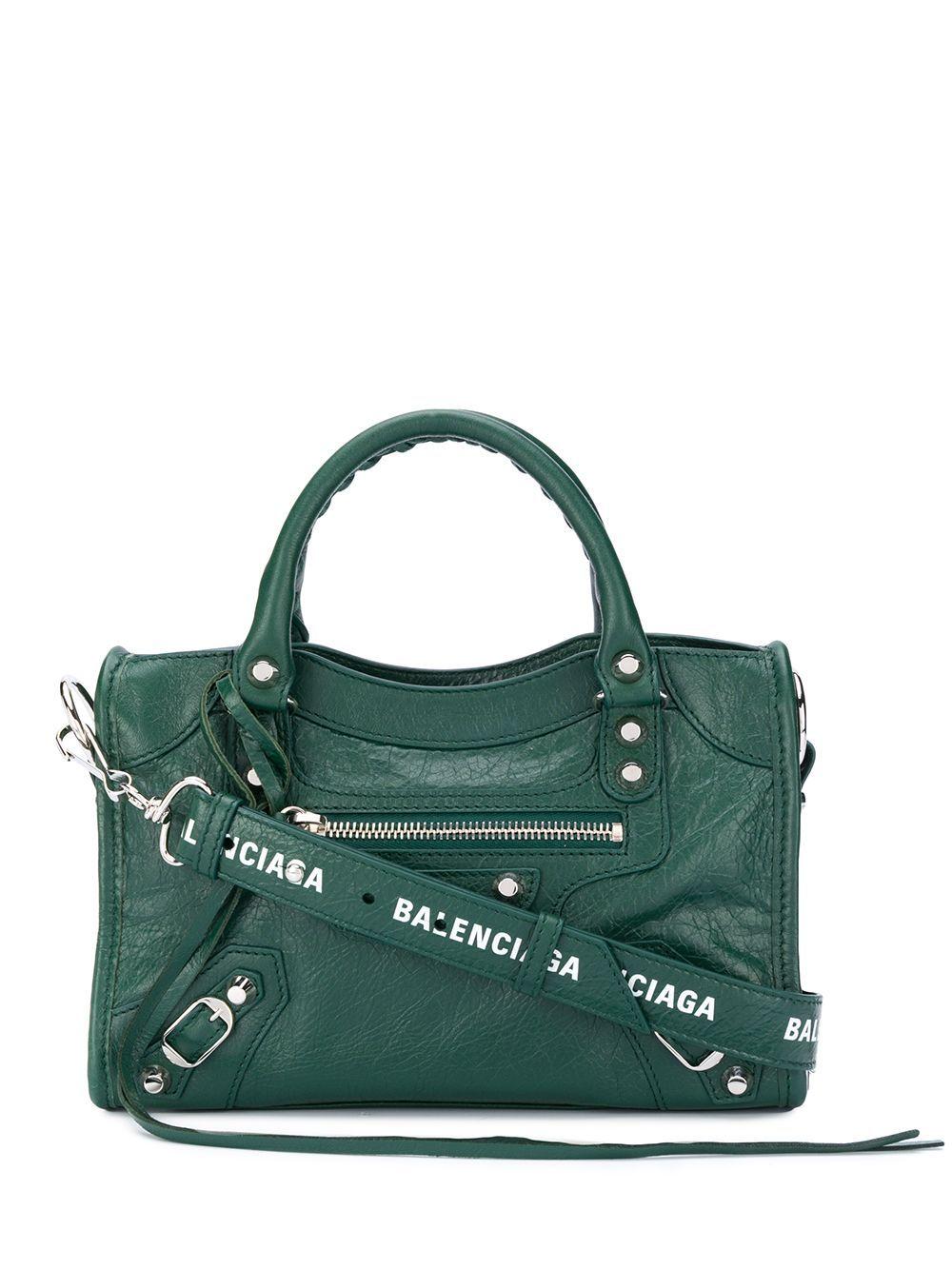 Balenciaga Mini City Tote Bag Farfetch In 2020 Balenciaga Mini City Balenciaga Bag City Balenciaga Mini City Bag