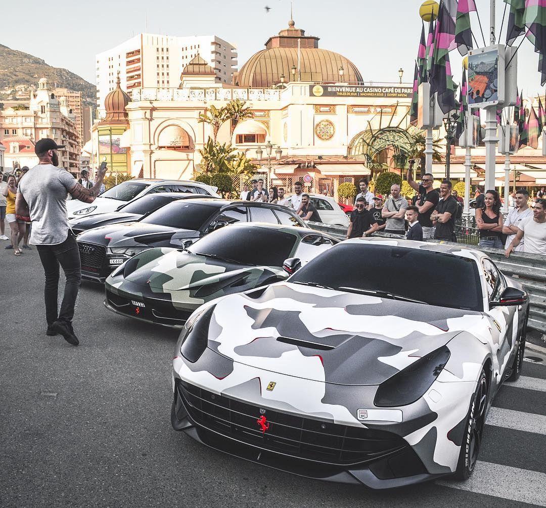 Camo F12 458 Rs6 Ferrari Dream Cars Super Cars