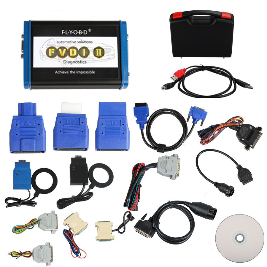Fly FVDI 2 Commander Full Version With All 18 Software Honda