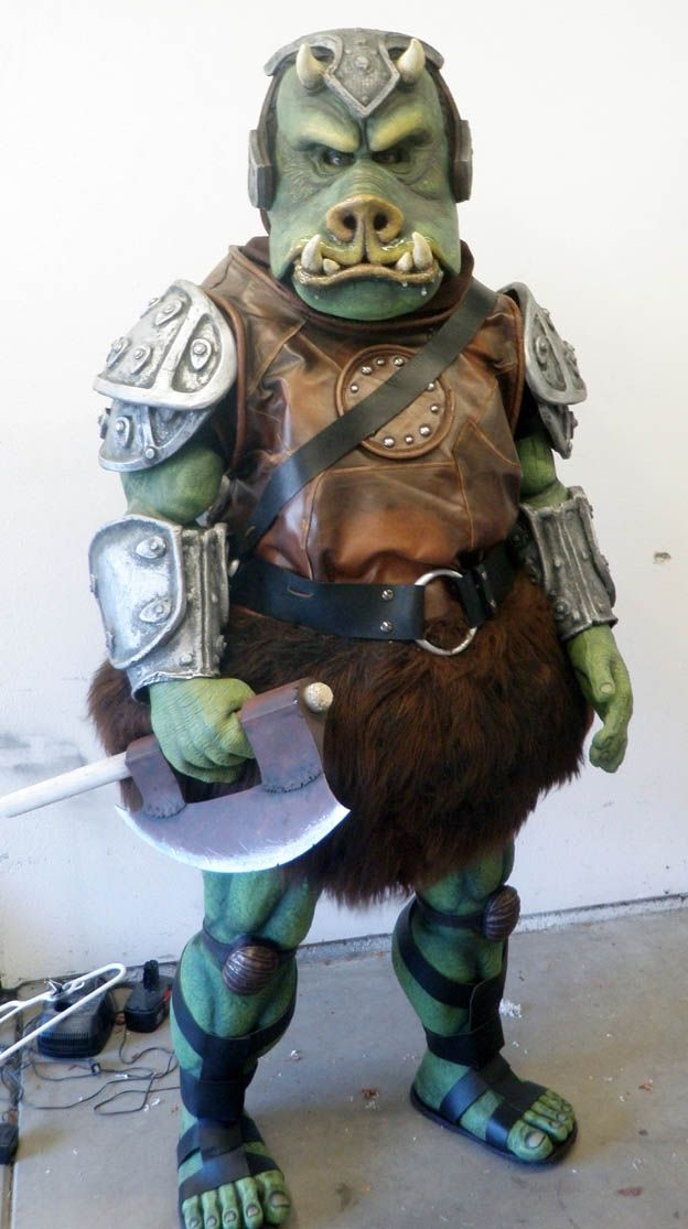 Pin by beth brown on gamorrean guard concept star wars star wars art fan - Star wars gamorrean guard ...