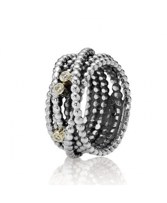 5aa160523 Discover ideas about Pandora Ringe. Authentic Pandora And Gold Diamond  Multi Ring Clearance Deals