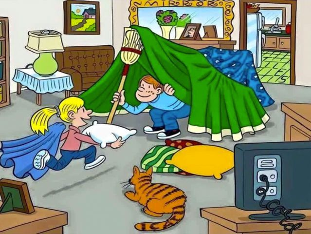 Can You Find The Six Words Hidden In These Pictures