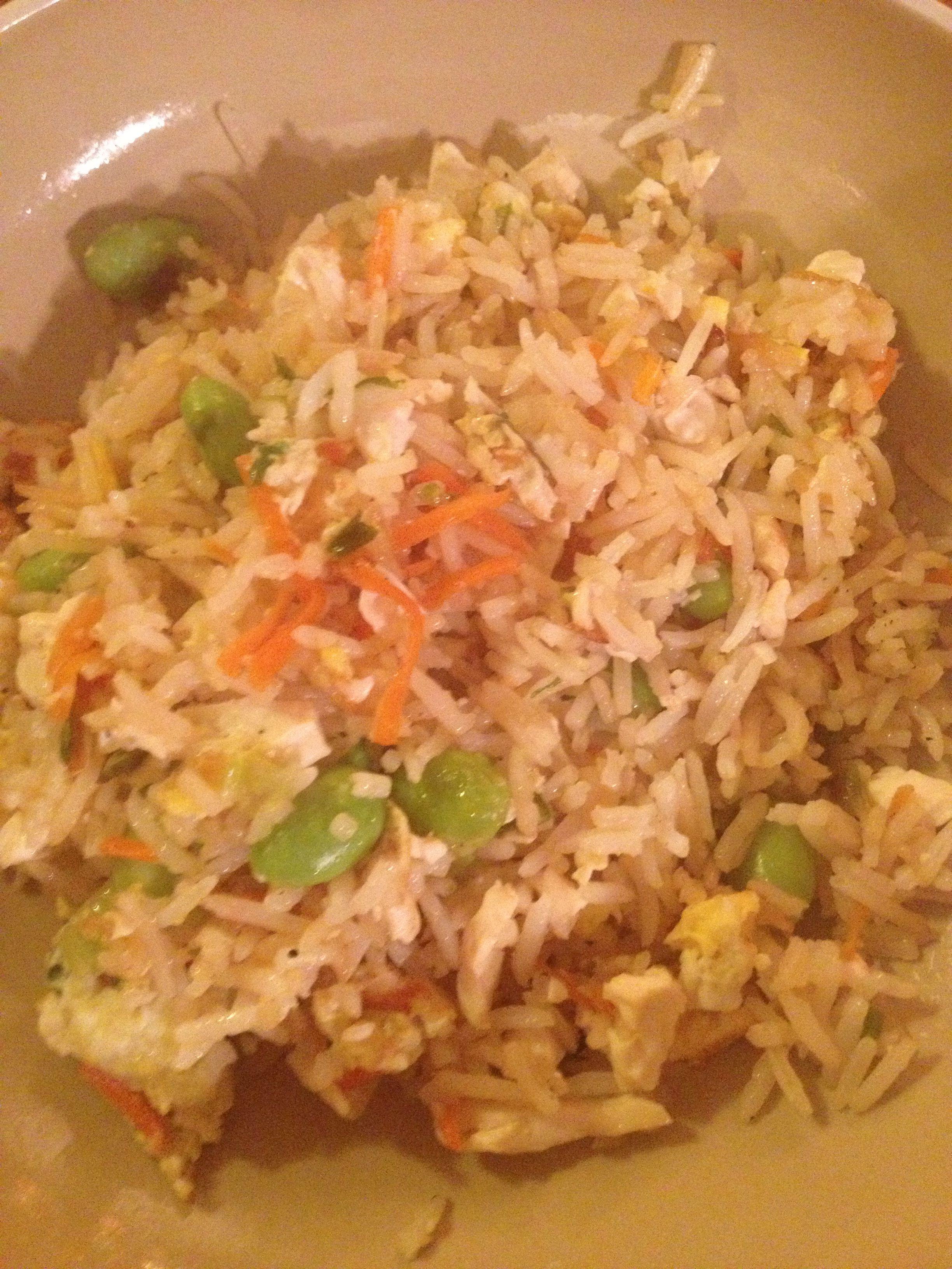 Watson dinner. Vegetarian asian stir fry. 5 stars from whole fam!