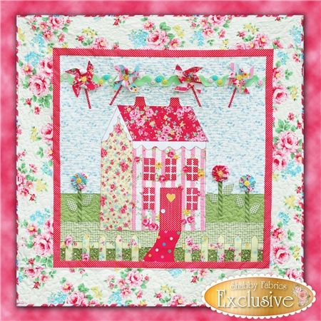Little Garden House in Spring Pattern Little Garden House in Spring is a sweet 41