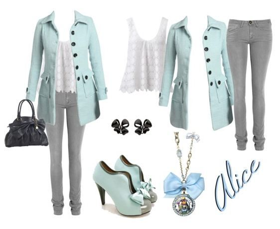 alice in wonderland inspired outfit style outfit ideen. Black Bedroom Furniture Sets. Home Design Ideas