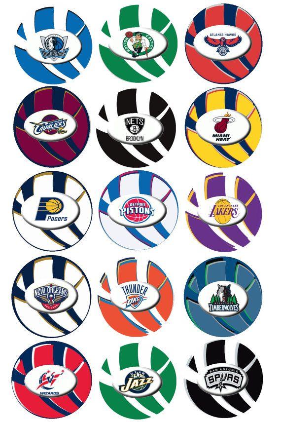 Nba Team Logo Printable Google Search Basketball Birthday Parties Boy Birthday Parties Basketball Birthday