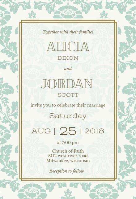 Free wedding invitation templates greetings island wedding free wedding invitation templates greetings island stopboris Choice Image