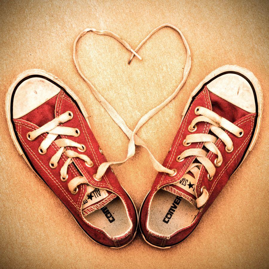 a1dcd39d0be825 Rote Converse Chucks! Sneaker von New Balance