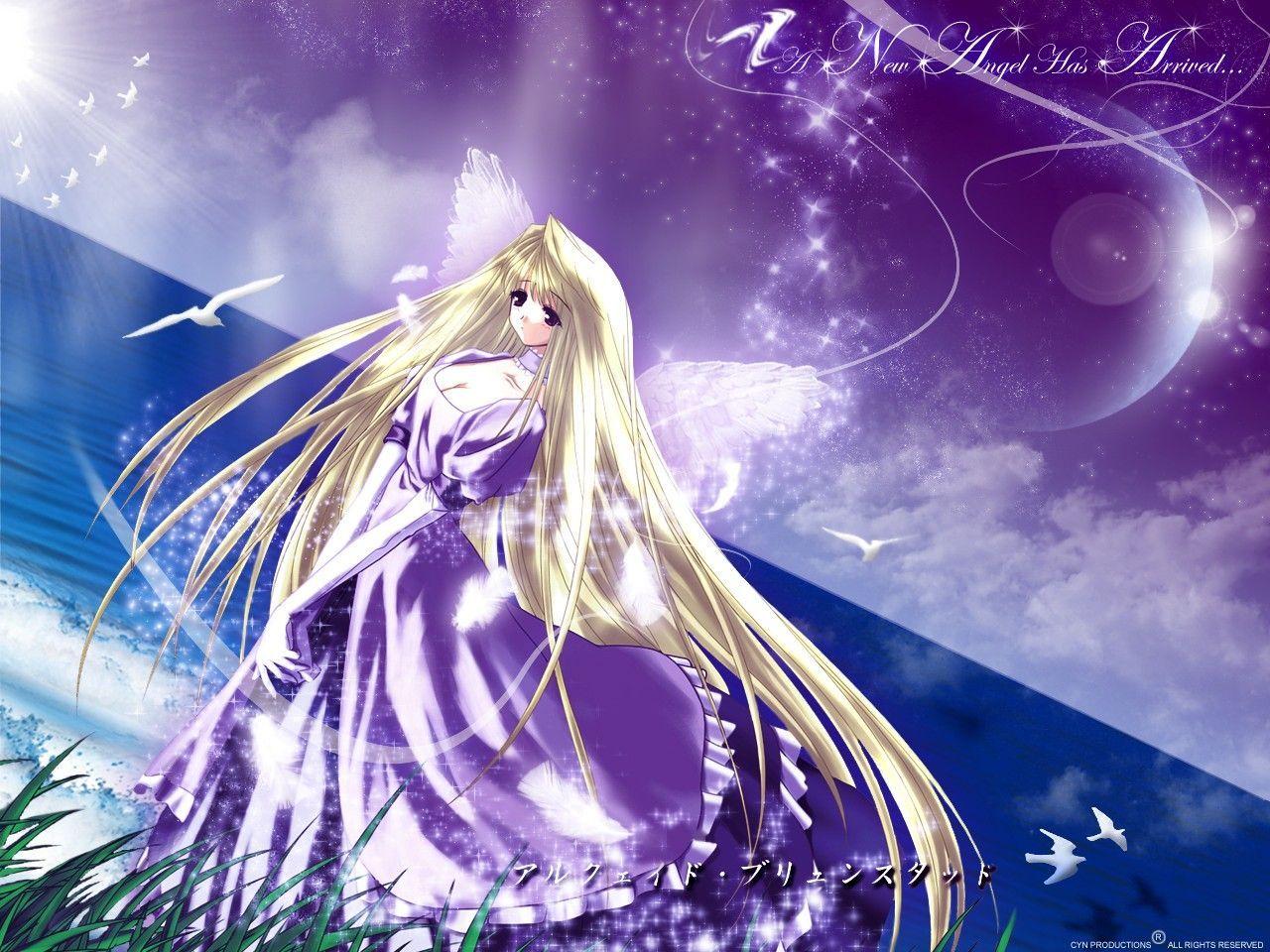 Hình ảnh có liên quan Anime, Thiên thần, Hình nền