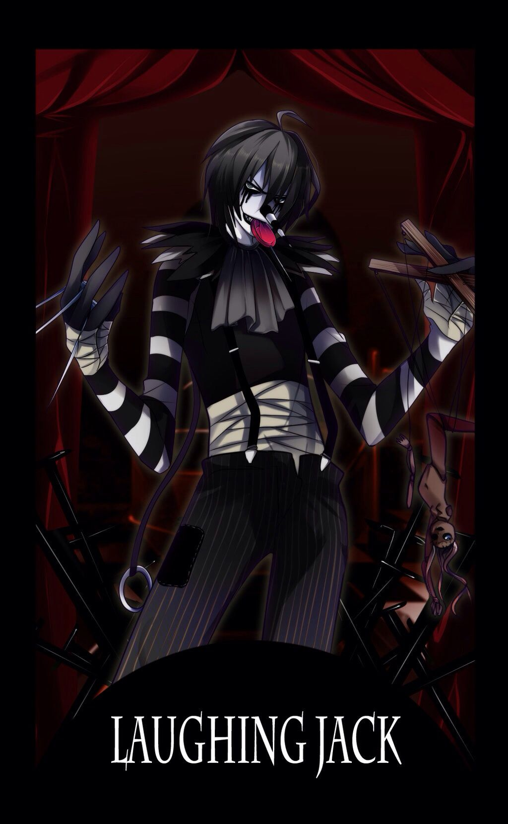 Laughing Jack Jack creepypasta, Creepypasta, Laughing jack