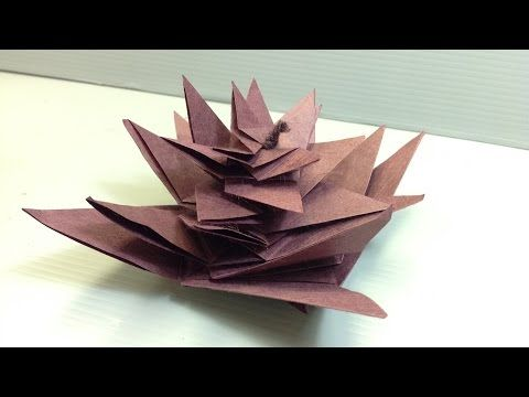Make Your Own Origami Iris Flowers Print At Home Youtube Origami Design Pine Cone Decorations Origami
