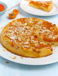 Gâteau moelleux et léger aux abricots - Bikini et Gourmandise