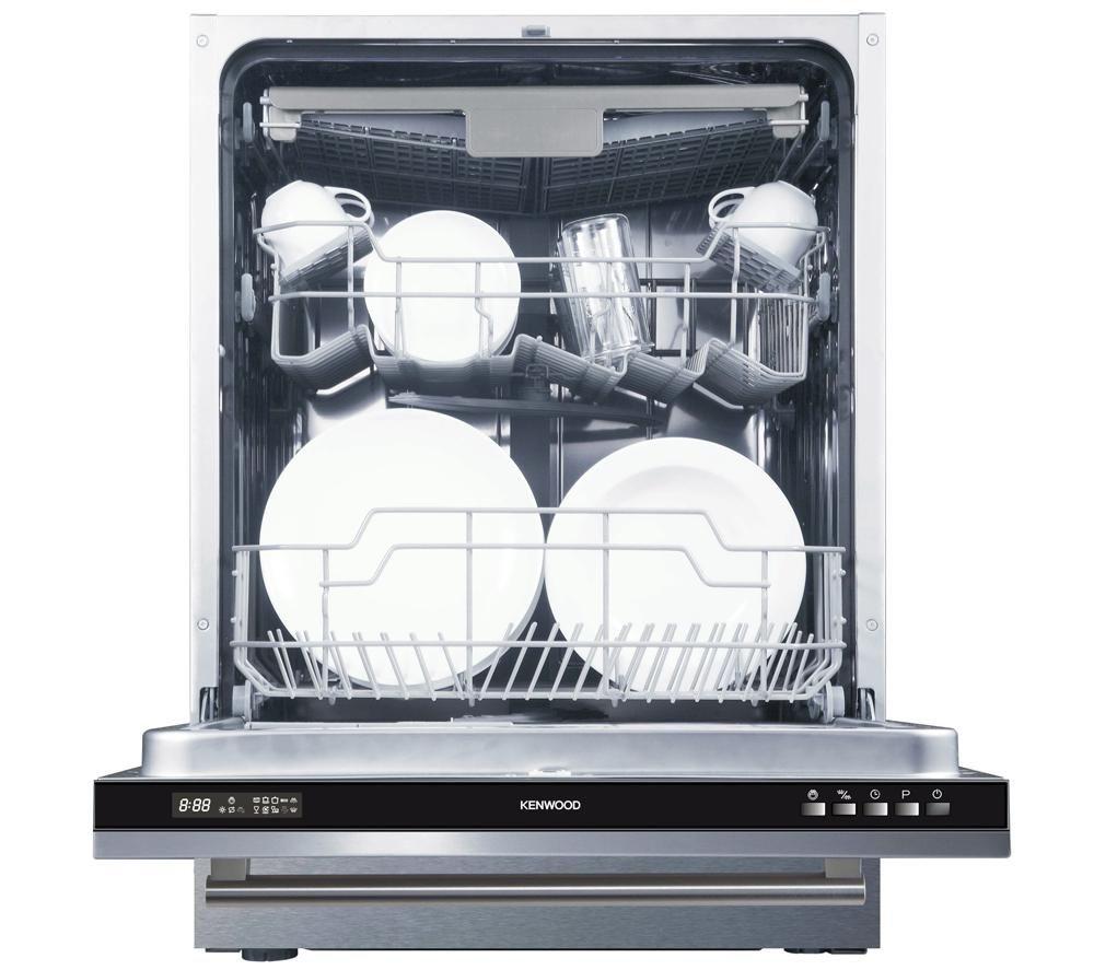 Kenwood Kid60b14 Full Size Integrated Dishwasher Built In Dishwasher Integrated Dishwasher Appliances Online