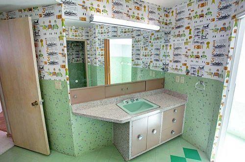 Dramatic 1959 Split Level Time Capsule House In Same Family For 55 Years 55 Photos Retro Renovation Dream Bathrooms Retro Bathrooms