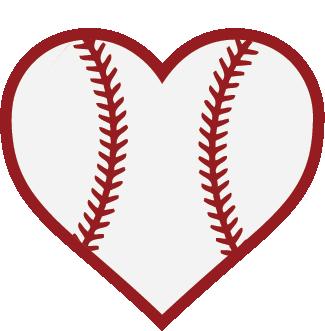baseball heart cricut explore pinterest cricut baseball rh pinterest com Baseball Bat and Ball Baseball Bat and Ball