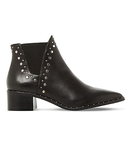 fa9363b1b5a STEVE MADDEN Doruss sm leather studded ankle boots.  stevemadden  shoes