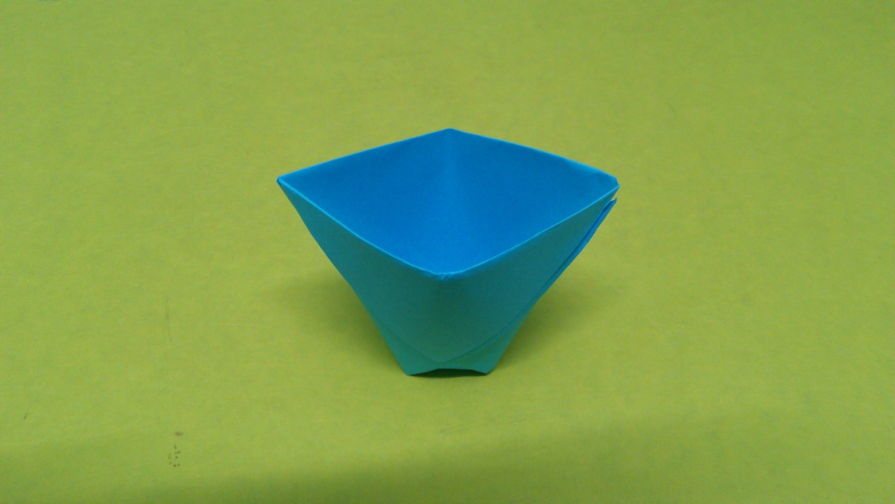 How to make a paper cup or origami cup crafts pinterest how to make a paper cup or origami cup jeuxipadfo Image collections