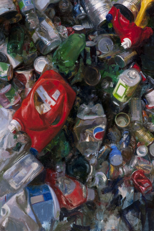 Painter Michael Kareken finds inspiration for his artwork