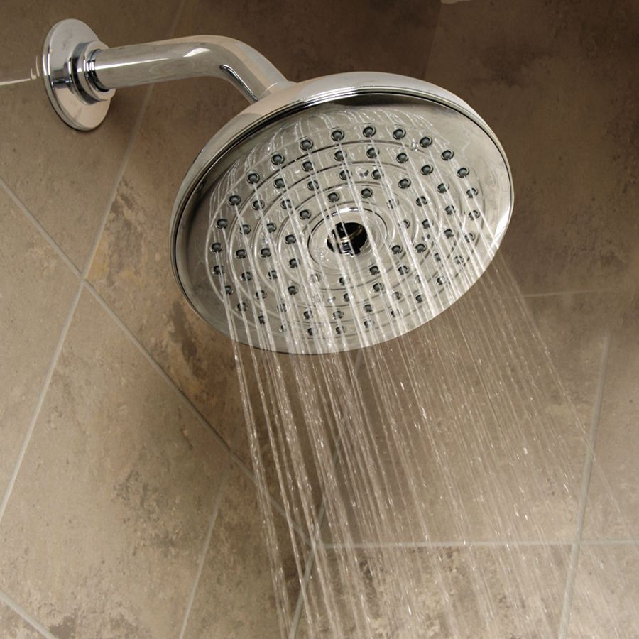 2 In 1 Showerhead System Rainfall Quick Connect Detachable Hose