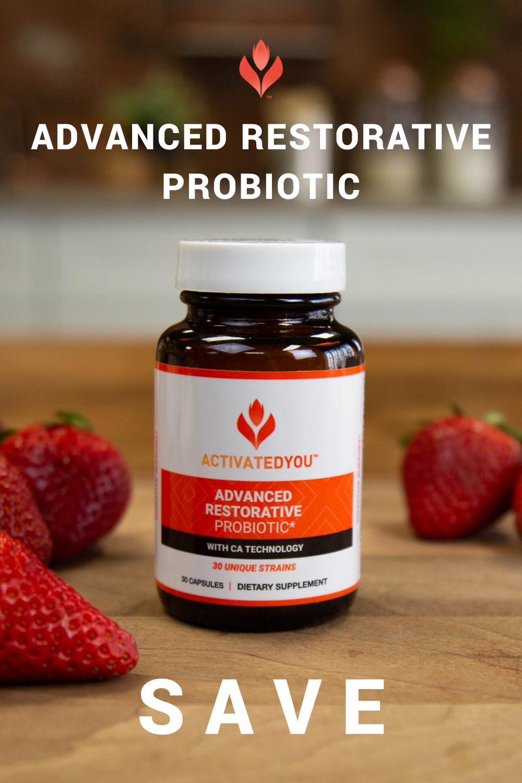 Advanced Restorative Probiotic Coupon Probiotics Digestive Health Activatedyou