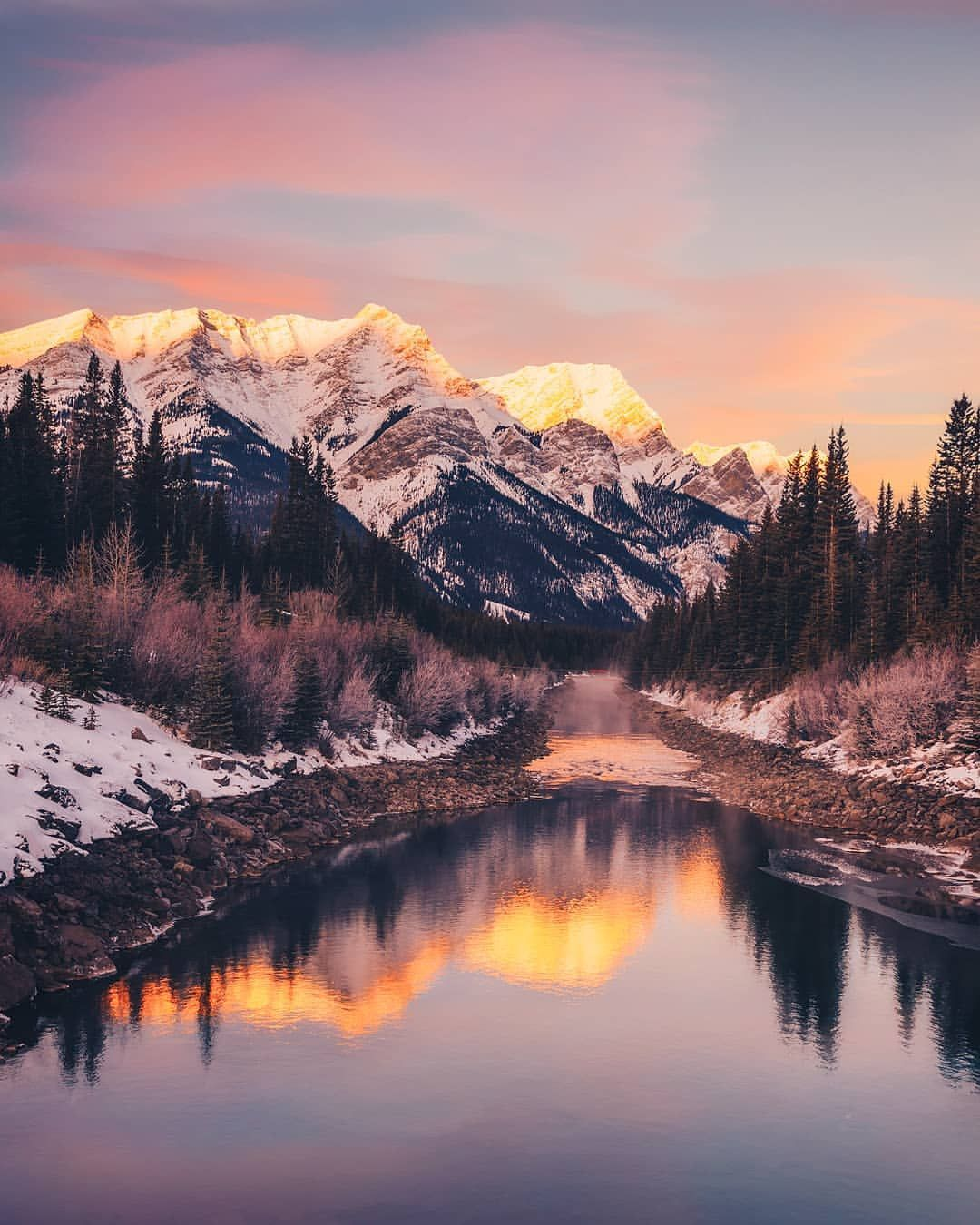 Brilliant Natural Landscapes Of Alberta By Sanjay Chauhan Scenery Brilliant Natural Landscapes Of Alb Cool Landscapes Landscape Photography Nature Photography